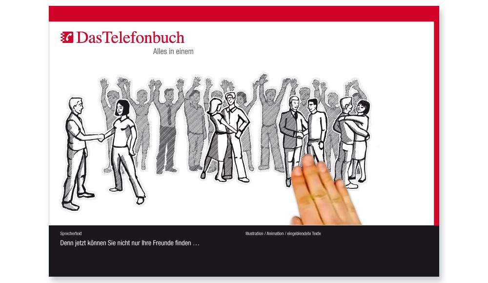 Animation für Verzeichnismedium