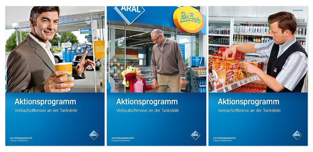 Unternehmensliteratur für ARAL |made by together concept, Ruhrgebiet