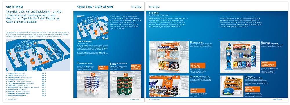 Unternehmensliteratur Tankstellenmarketing ARAL