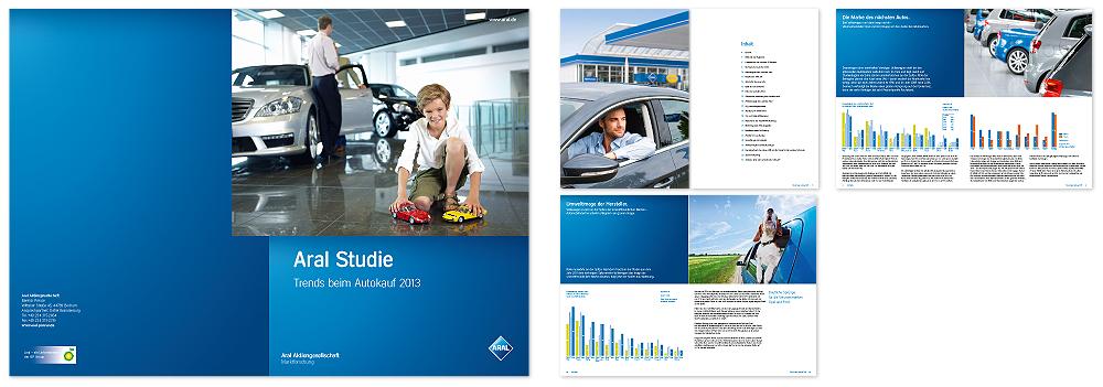 Unternehmensliteratur für ARAL von together concept Werbeagentur, Essen, NRW