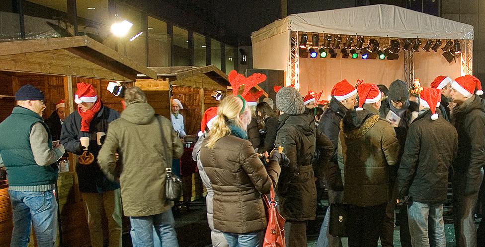 Weihnachtsmarkt als Dankeschön für Mitarbeiter