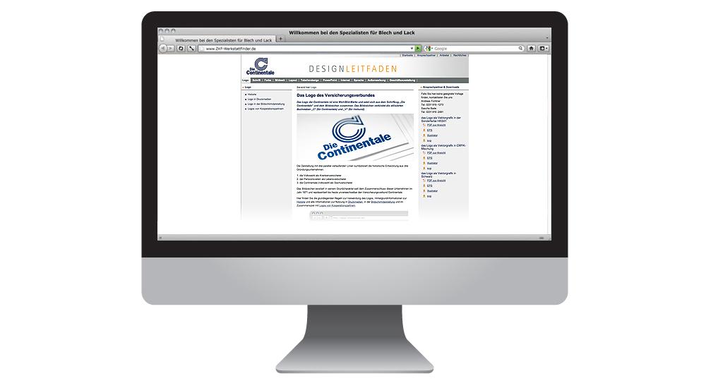 Online-Designleitfaden für die Koordination vieler Werbepartner