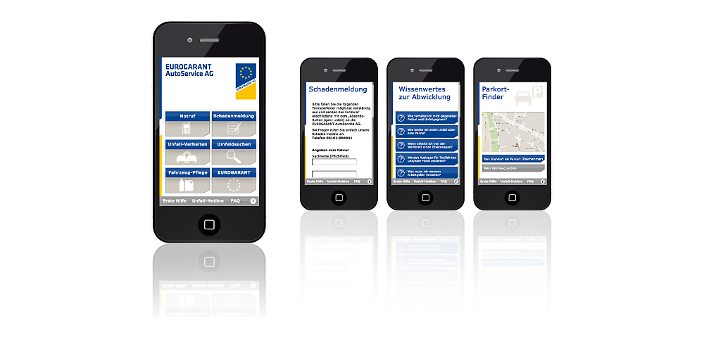 App-Unterstützung für Firmenfahrzeuge und deren Fahrer