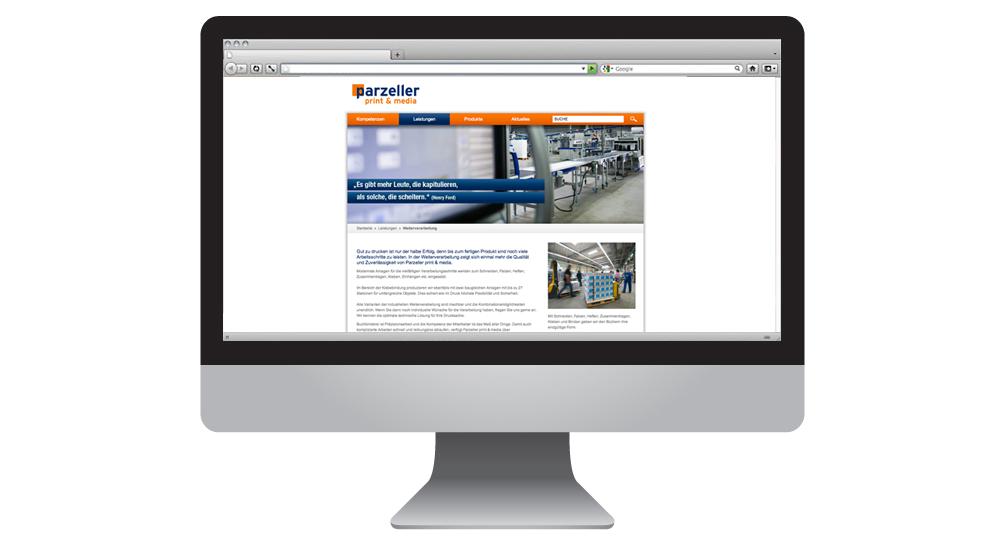 Parzeller Print & Media im Internet | together concept Werbeagentur GmbH