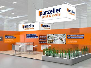 Parzeller auf der Frankfurter Buchmesse