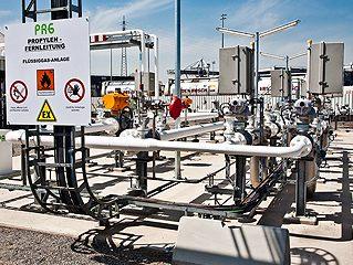 PRG: eine Pipeline wird eingeweiht
