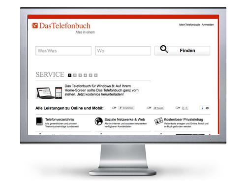 Interfacedesign für mächtige Webseiten aus Essen, NRW