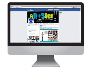Erster auf Facebook