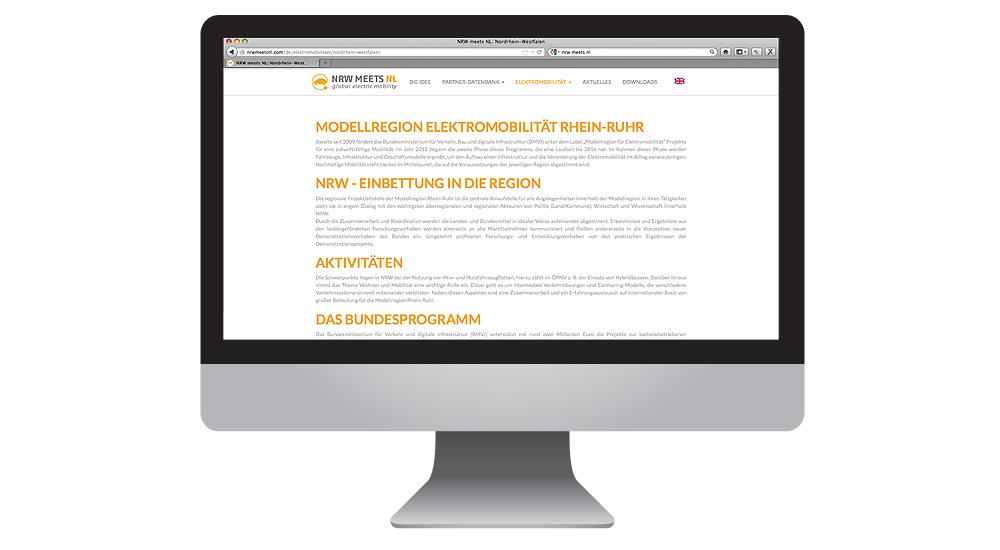 Elektromobilität –Zukunftsthema mit neuer Homepage