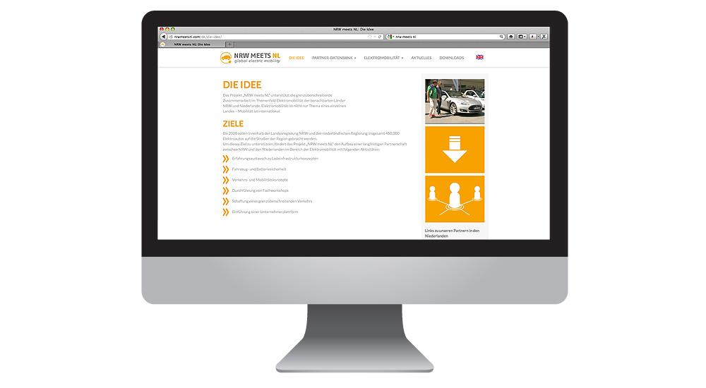 Elektromobilität: Webdesign von together concept