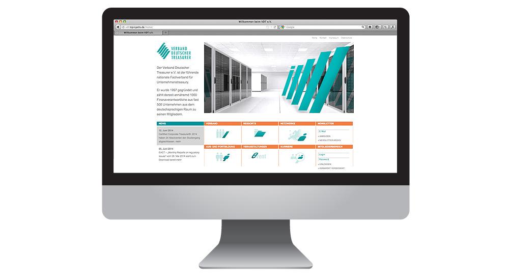 Verband Deutscher Treasurer launcht neue Homepage