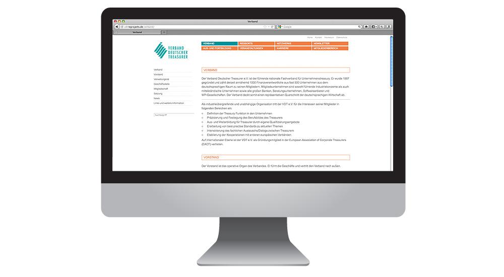 Treasurer Netzwerke, Themenentwicklung, Qualifizierung, Interessenvertretung