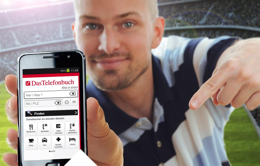 Location-based-services mit Das Telefonbuch