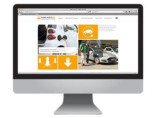 Elektromobilität Webdesign und Programmierung