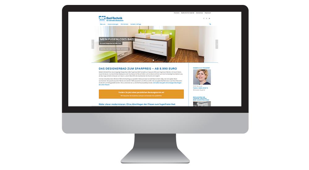 Multisite mit Formularwesen, Blog und Shop