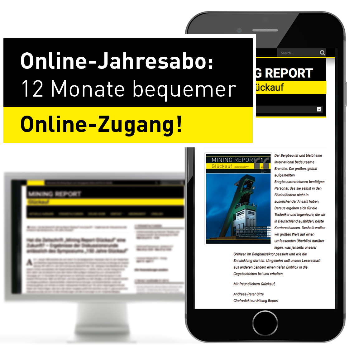 Mining Report Magazin und Onlineauftritt