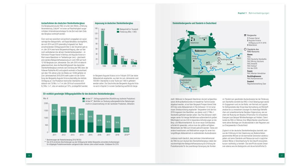 Strukturwandel im Ruhrgebiet, der GVST Jahresbericht