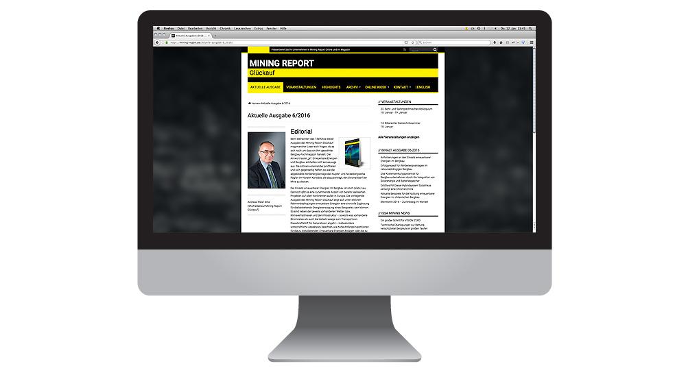 MIning Report Online