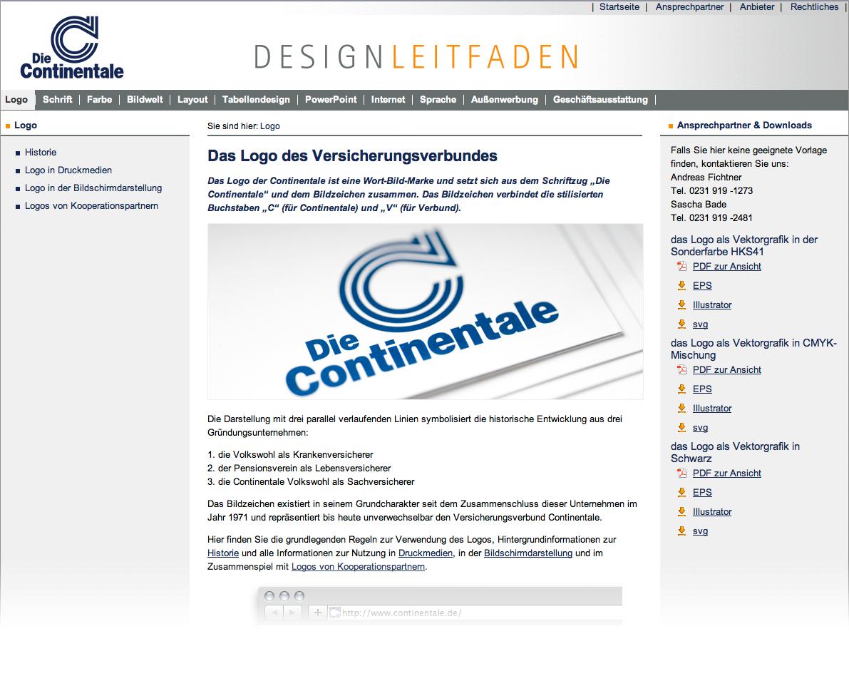 Vom Logo bis zur Broschüre – alles im Online-Designleitfaden