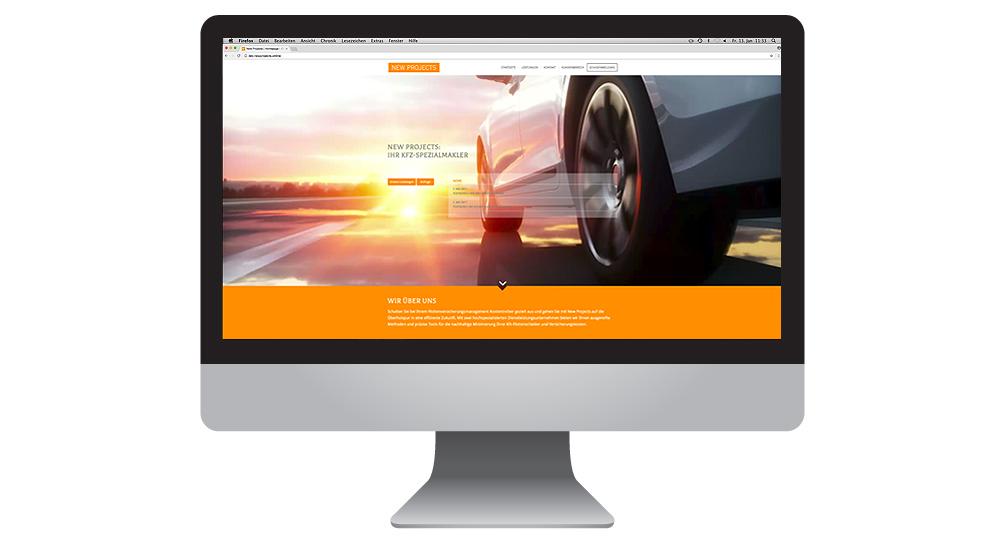 Webrelaunch mit Video für Versicherungsmakler New Projects