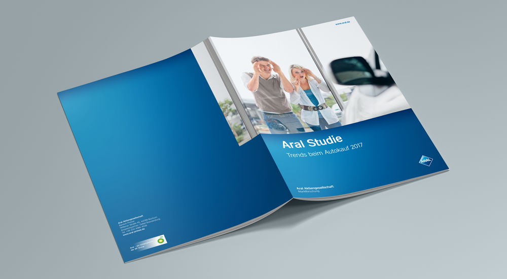 Zum achten Mal in Folge: Die Werbeagentur together concept erstellt das Design der Aral-Studie 2017
