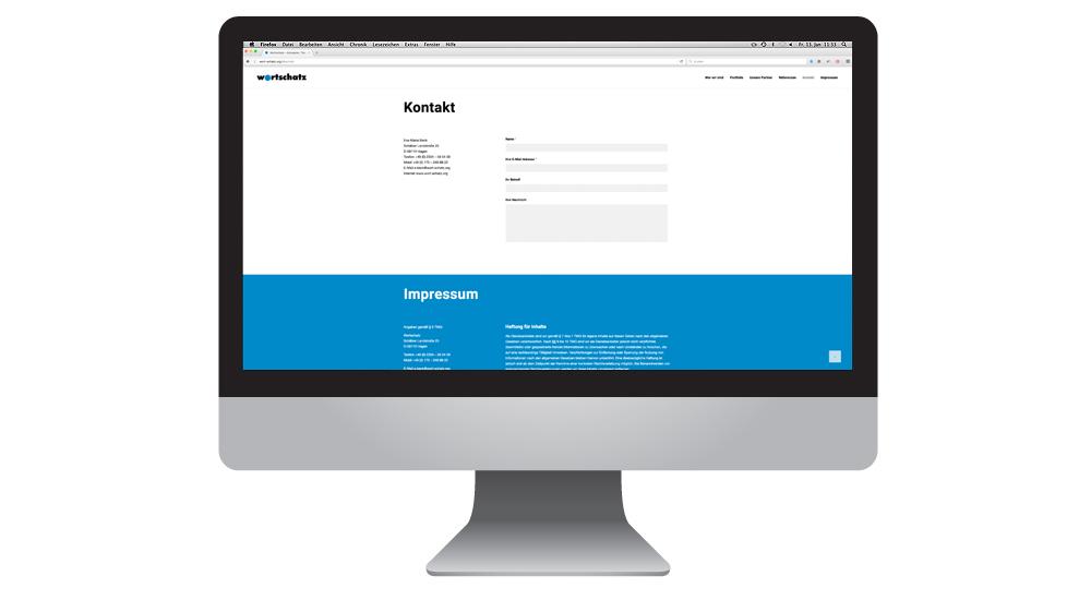 Wortschatz Webseite