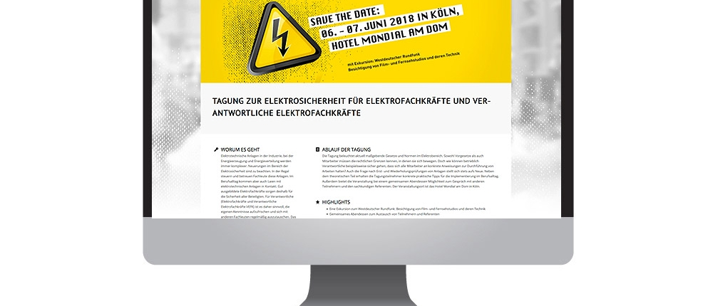 Tagung für Elektroexperten: Home