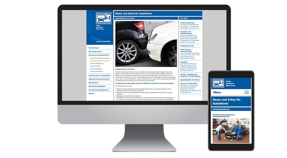 Autounfall gibt Auskunft im Netz - umfassende Informationen für Fahrzeugbesitzer
