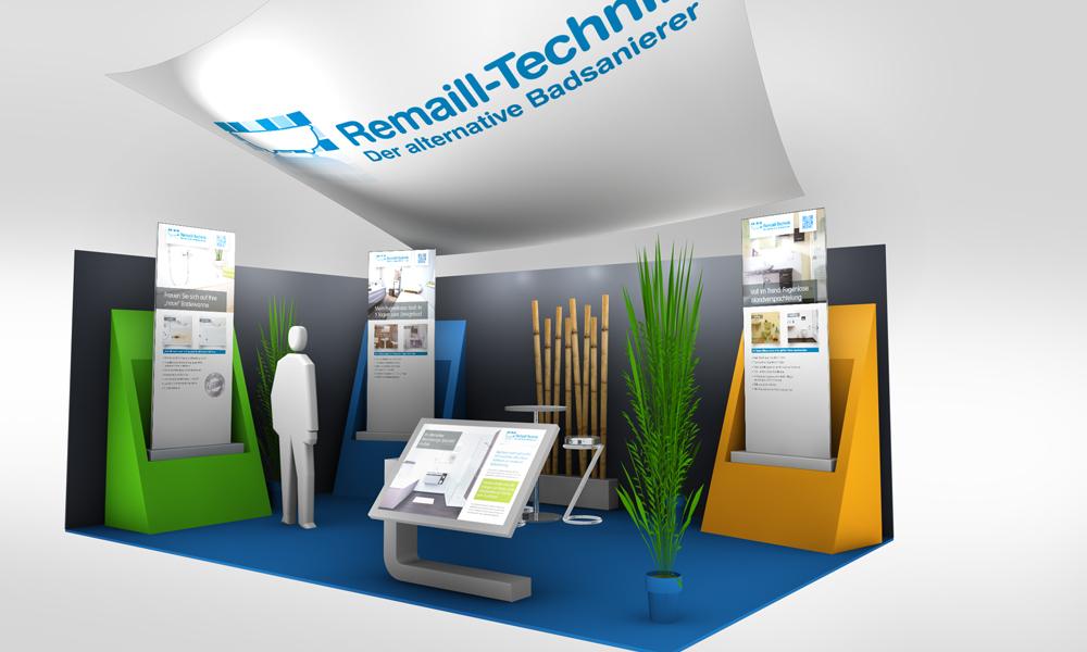 together concept realisiert den wirkungsvollen Systemstand für Handwerksbetriebe der Remaill-Technik