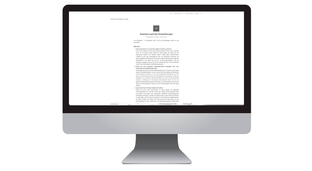Themenseiten mit Wordpress