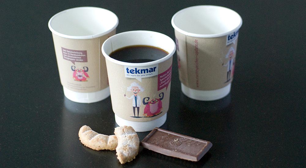 … vom Kaffebecher bis …