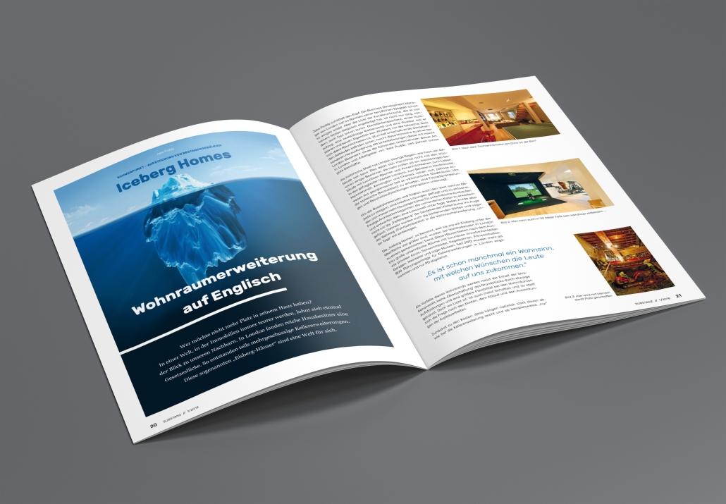 Jede Ausgabe ein neuer Schwerpunkt aus Wissenschaft und Praxis: das Magazin Substanz