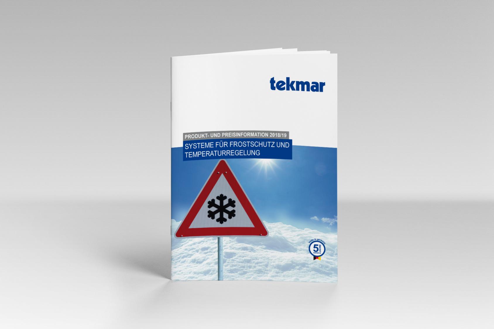 Katalog für tekmar in Essen
