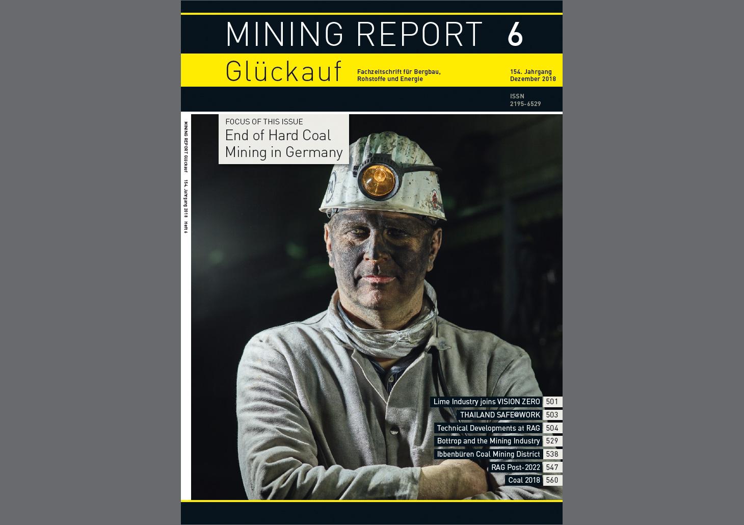 Bergbau seit mehr als 150 Jahren im Fachmagazin Mining Report