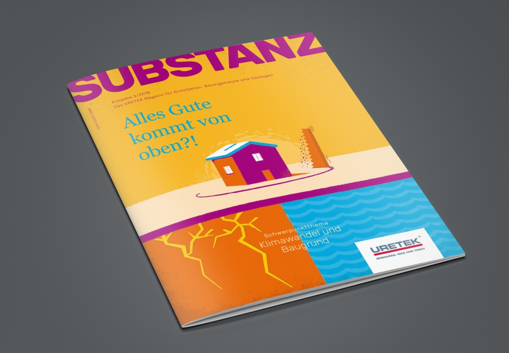 Design von together concept: Das Fachmagazin Substanz