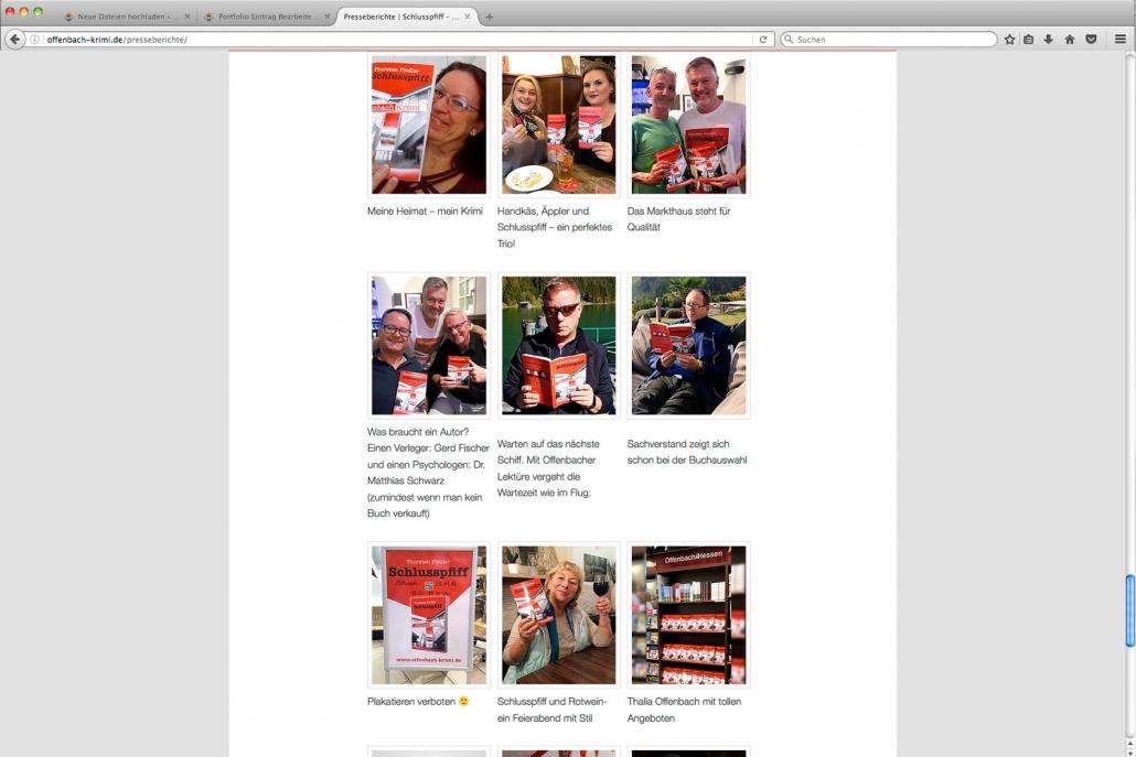 Clever vermarktet: Schlusspfiff – der Offenbach Krimi