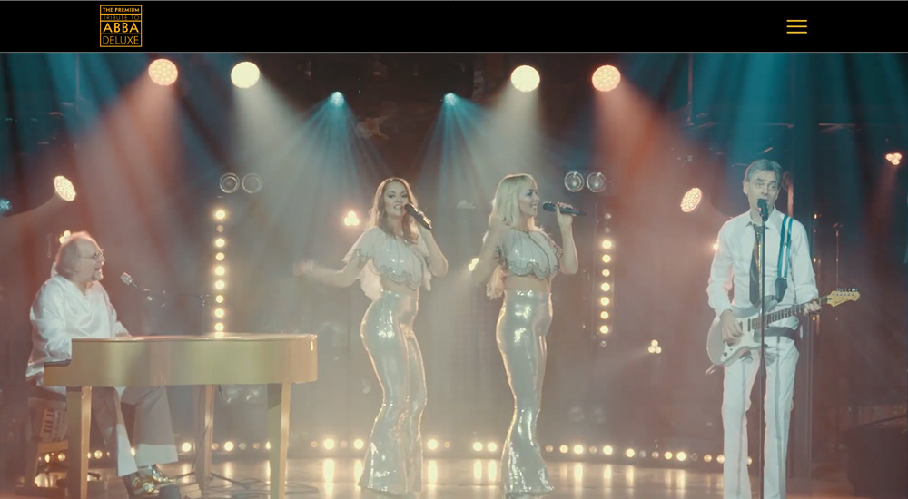 Dancing Queen der legendären Band Abba inszeniert von ABBADELUXE