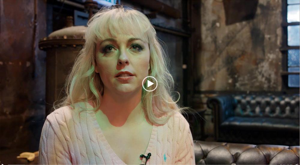 Sängerin Michelle Cleave verkörpert Agnetha von ABBA