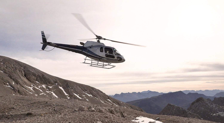 Videodreh für ein Luxushotel und Event-Location: mit dem Helikopter in die Dolomiten