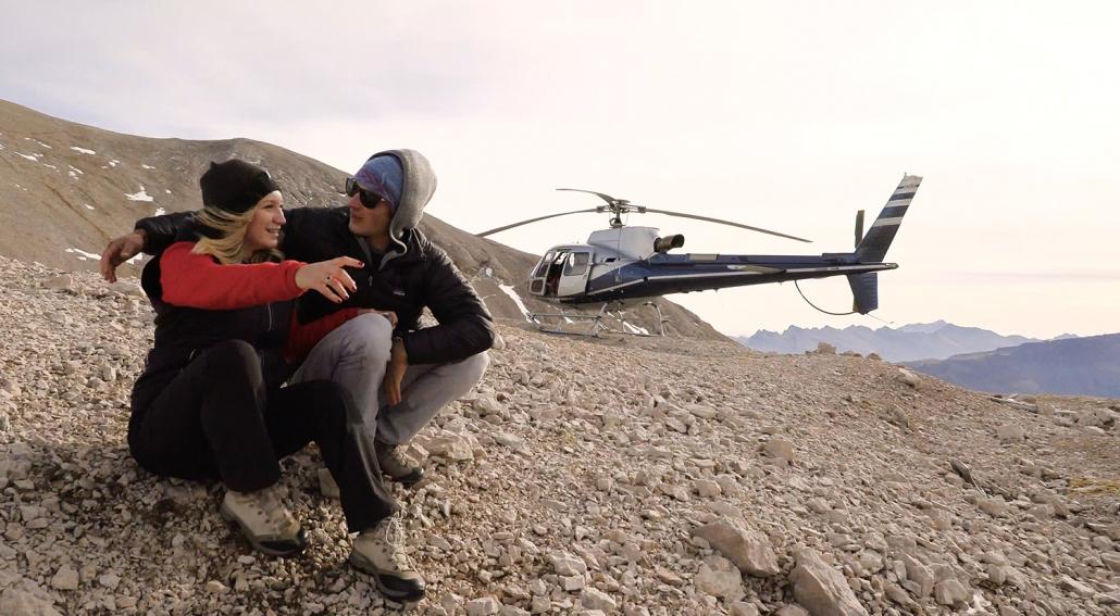 Ungwöhnliche Drehorte in Südtirol: Der Imagefilm führt das Drehteam von together concept auf die höchsten Gipfel der Dolomiten