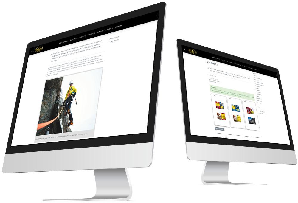 Alle Marketingideen strukturiert im Blick – der Blog ermöglicht moderne Unternehmenskommunikation